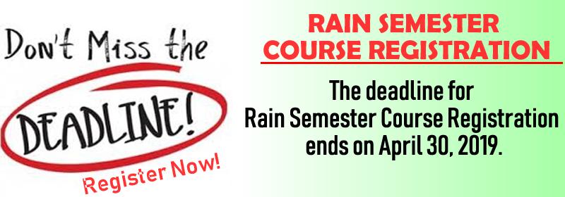 Al-Hikmah University Course Registration Deadline