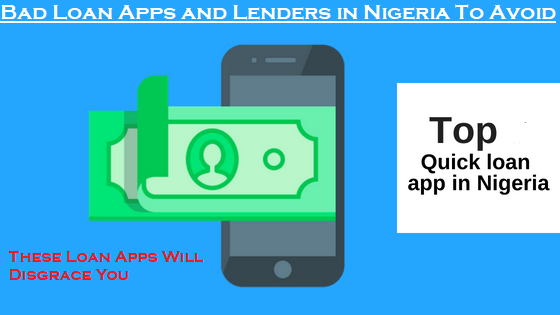 Bad Loan Apps and Lenders in Nigeria To Avoid