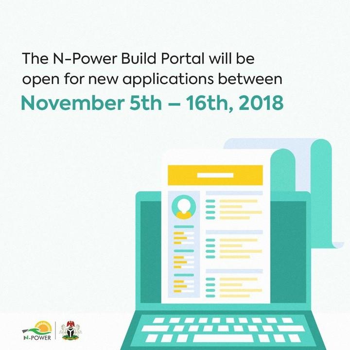 N-power Build Portal