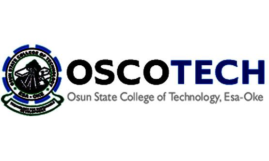 OSCOTECH HND Admission Form