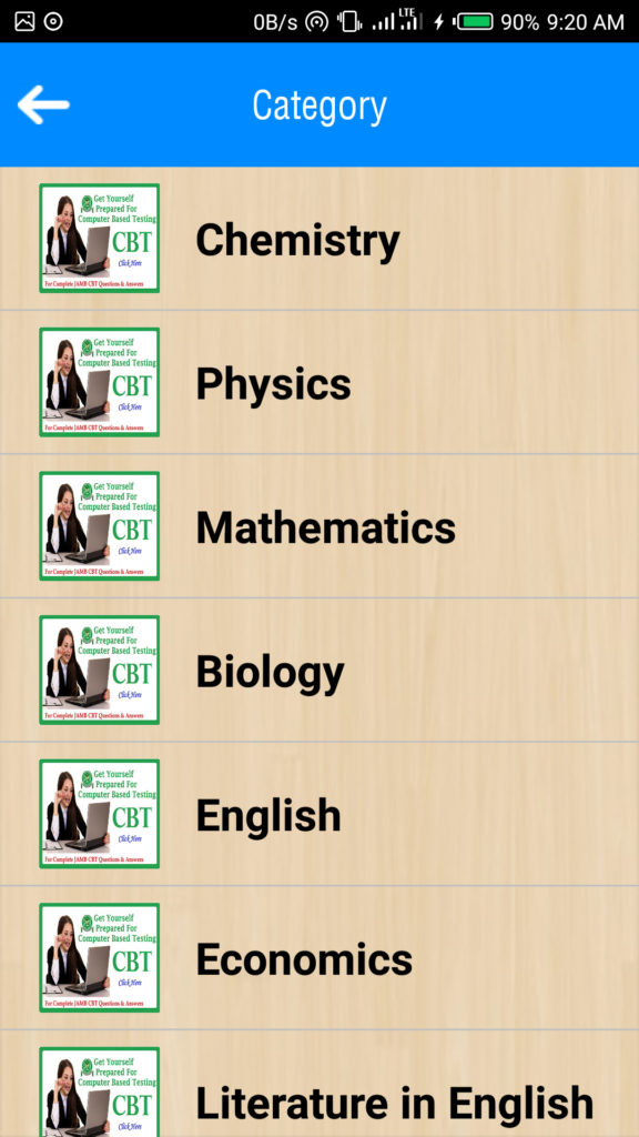 JAMB UTME CBT Practice App for Android Phones