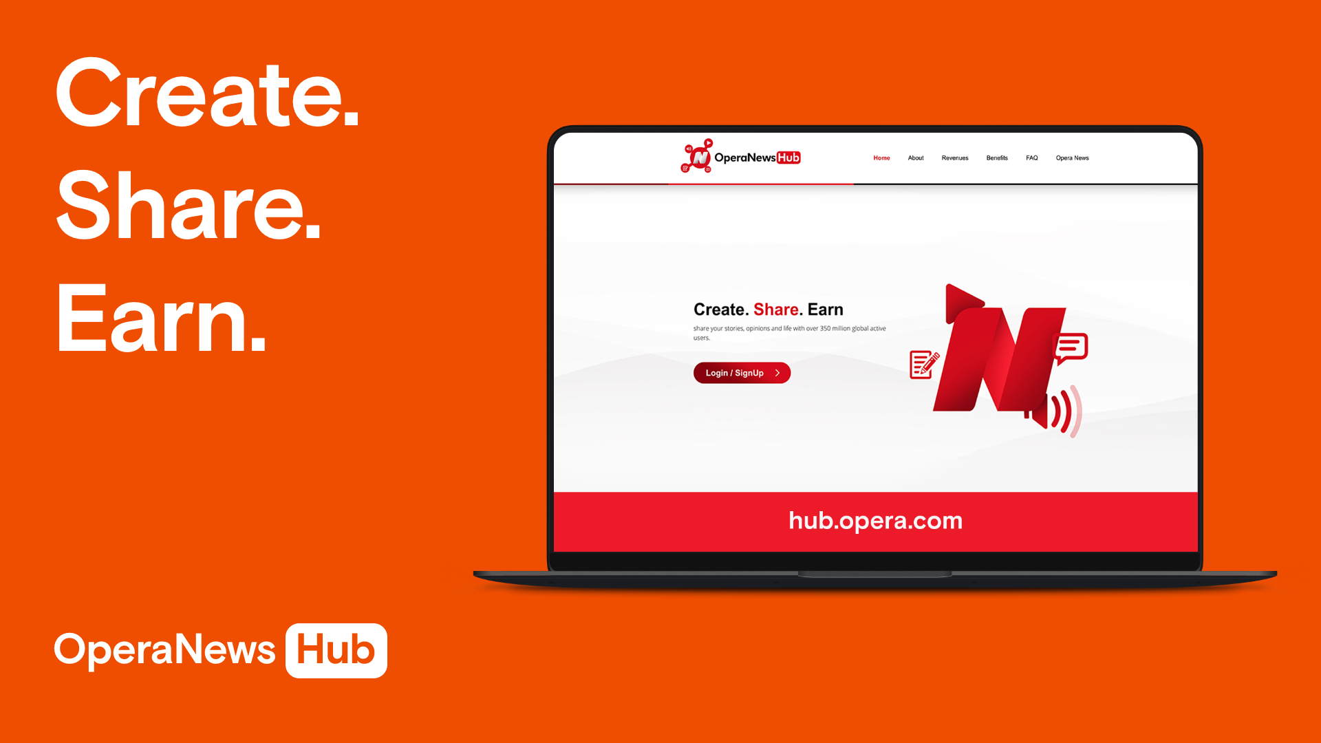 Make Money with Opera News Hub