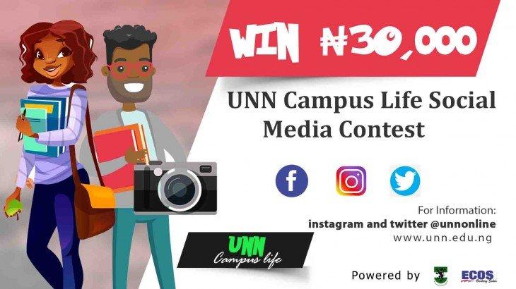 UNN Campus Life Social Media Contest