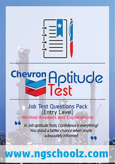Chevron Scholarship Past Question