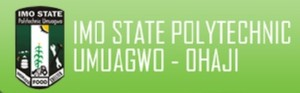 Imo State Poly ND Admission Form