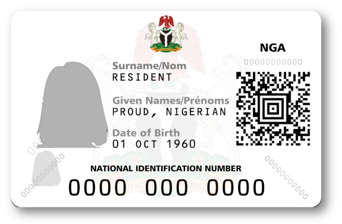The Improved NIN Slip with a QR code which can be printed out