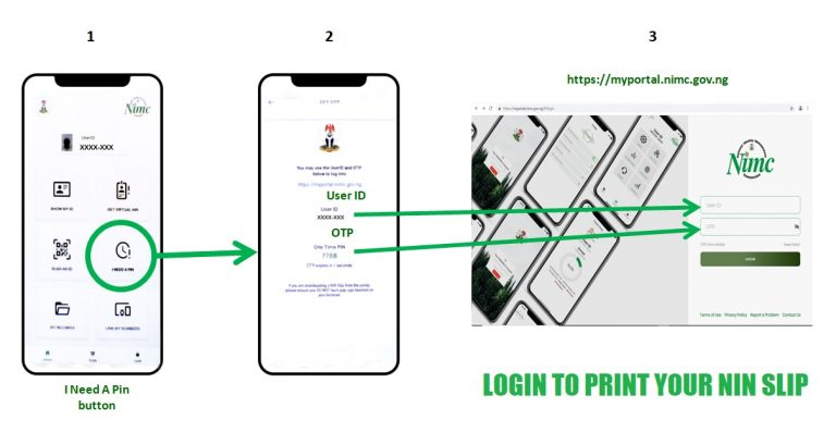 myportal.nimc.gov.ng portal